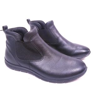 ECCO Babett Leather Pull-On Boots